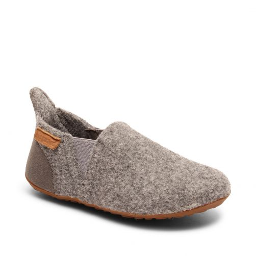 Bisgaard---Home-shoe-for-babies---Sailor-wool---Grey