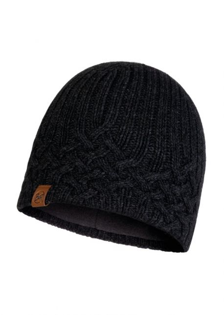 Buff---Knitted-Polar-Hat-New-Helle-for-adults---Graphite