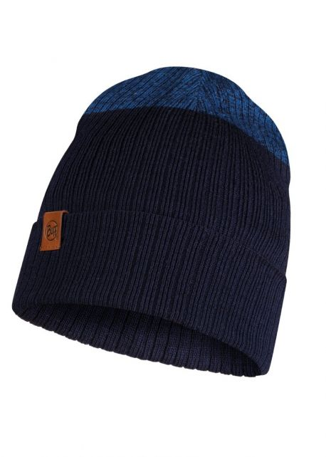 Buff---Knitted-Hat-Dima-for-adults---Nightblue