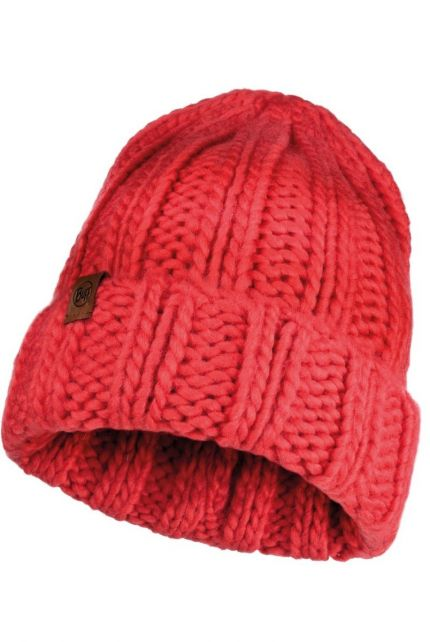 Buff---Knitted-Hat-Vanya-for-adults---Red