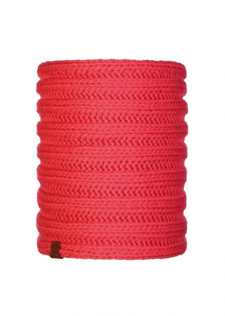 Buff---Knitted-Tube-scarf-Vanya-for-adults---Red