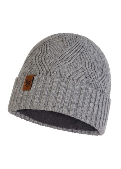 Buff---Knitted-Polar-Hat-Artur-for-adults---Grey