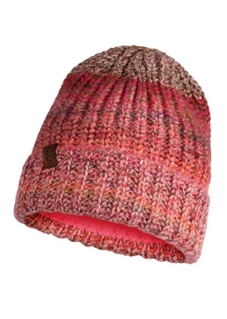 Buff---Knitted-Polar-Hat-Olya-for-adults---Pink/Multi