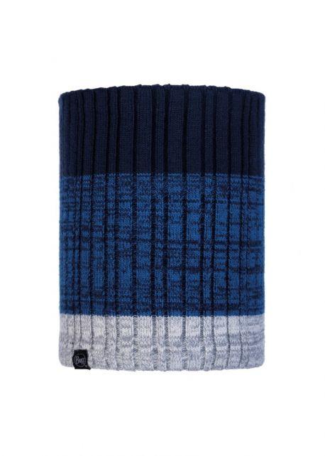 Buff---Knitted-Polar-Tube-scarf-Igor-for-adults---Nightblue