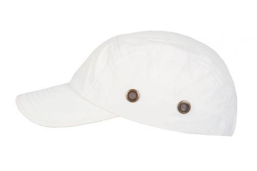 Hatland---Water-resistant-UV-Baseball-cap-for-men---Reef---White
