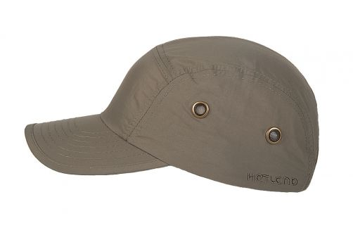Hatland---Water-resistant-UV-Baseball-cap-for-men---Reef---Olivegreen