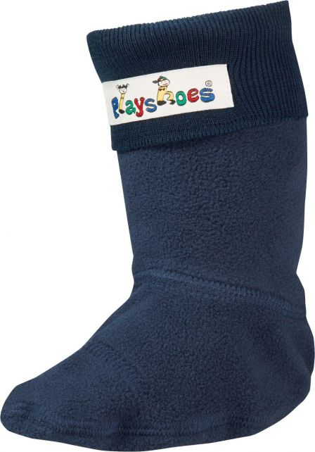 Playshoes---Fleece-socks-for-Rainboots---Navy