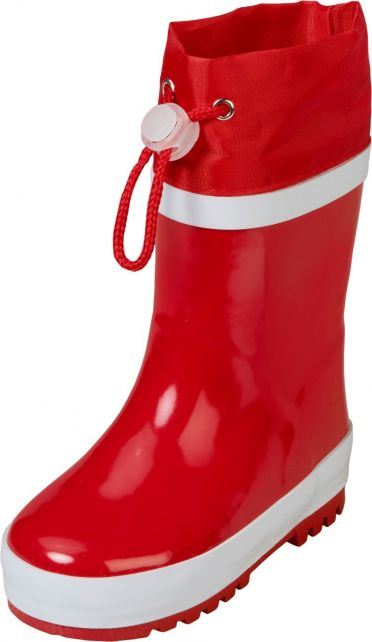 Playshoes---Rainboots-with-drawstring---Red