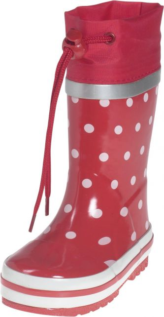 Playshoes---Rubber-Boots-Dots---Red