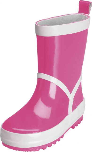 Playshoes - Rubber Boots - Pink - Front