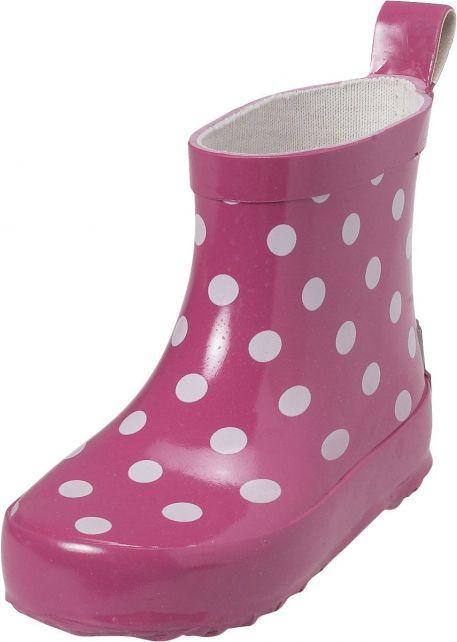 Playshoes---Short-Rainboots---Pink-Dots