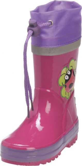 Playshoes---Rubber-Boots-Lady-Bug---Pink