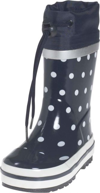 Playshoes---Rubber-Boots-Dots---Navy