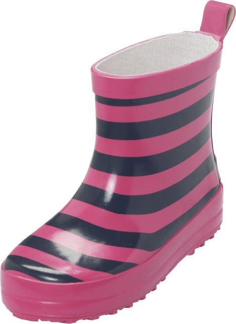 Playshoes---Short-Rainboots---Pink/Blue-Striped