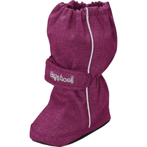 Playshoes---Thermal-winterboots-with-drawstring-for-kids---Red