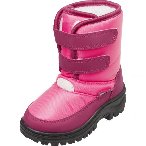 Playshoes---Winterboots-with-velcro-for-kids---Pink