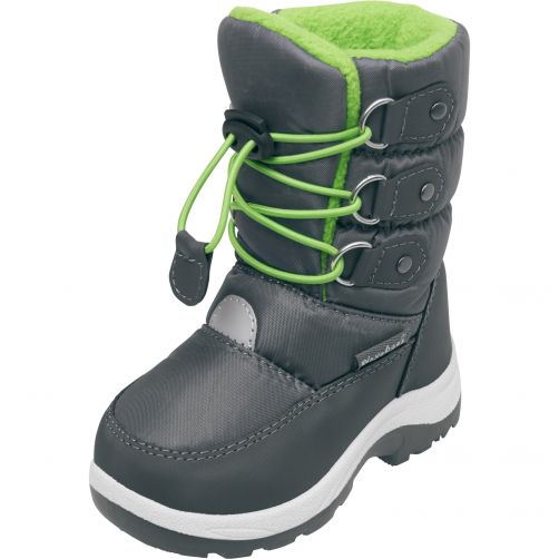 Playshoes---Winterboots-with-laces-for-kids---Green
