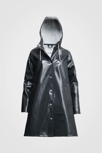 Stutterheim---Raincoat-for-women---Mosebacke---Charcoal-Opal