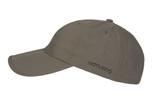 Hatland---Water-resistant-UV-Baseball-cap-for-men---Clarion---Olivegreen