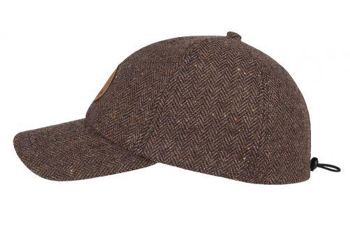 Hatland---Baseball-cap-for-men---Waban---Brown