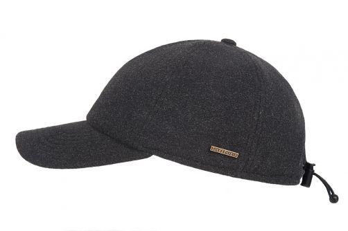 Hatland---Baseball-cap-for-men---Lenox---Anthracite