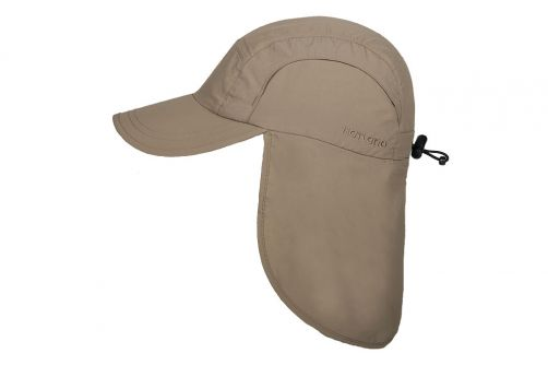 Hatland---Cooling-UV-Sun-cap-with-neck-protection-for-men---Malcolm---Beige