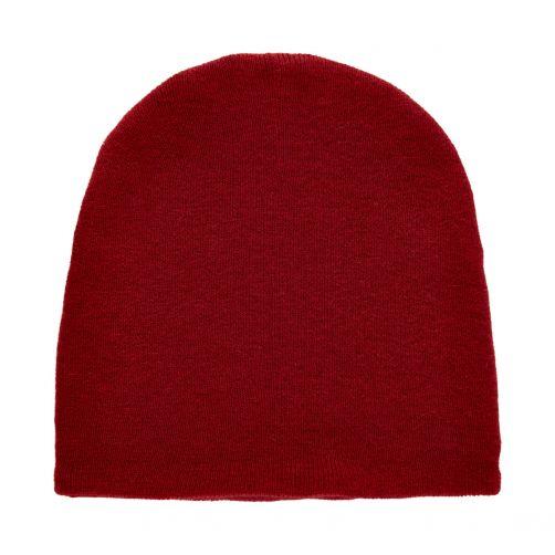CeLaVi---Beanie-for-kids---Knitted---Dark-red
