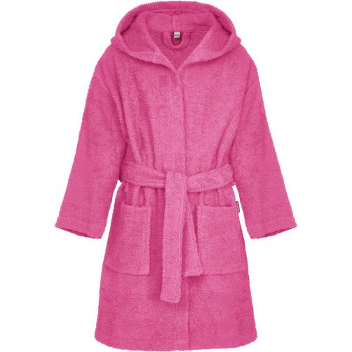 Playshoes---Terry-bath-robe-for-kids---Pink
