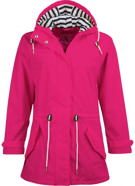 Pro-X-Elements---Rain-coat-with-waist-cord-for-women---Marit---Cherry-pink