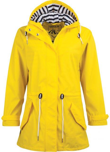 Pro-X-Elements---Rain-coat-with-waist-cord-for-women---Marit---Yellow