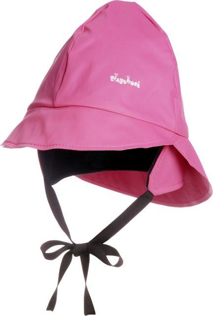 Playshoes---Rain-cap-with-fleece---Pink