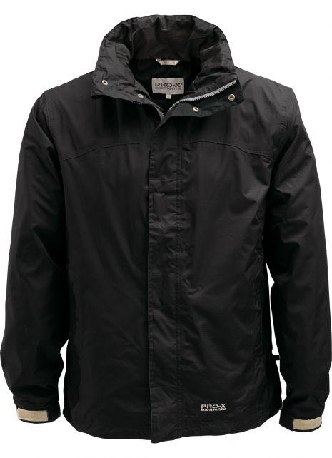 Pro-X-Elements---Packable-rain-jacket-for-men---Meran---Black