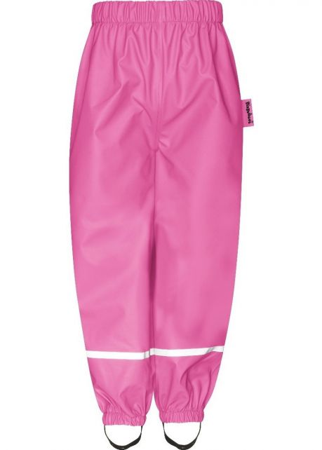 Playshoes---Rain-Pants-with-Fleece-lining-for-kids---Pink