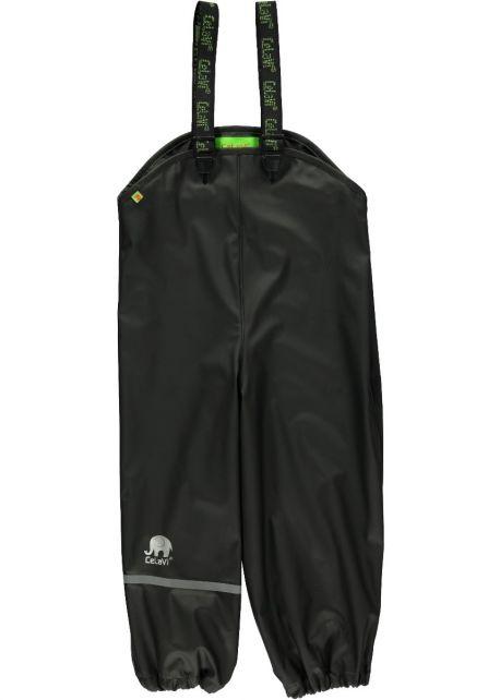 CeLaVi---Rain-Bib-Pants-for-Kids---Black