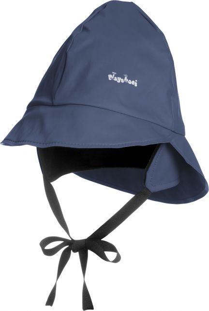 Playshoes---Rain-cap-with-fleece---Navy