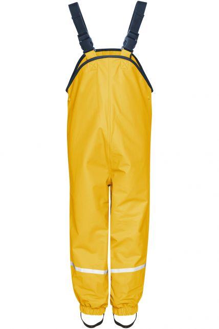 Playshoes---Rain-Bib-Trousers-with-Fleece-lining---Yellow