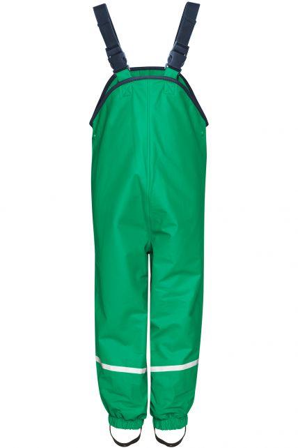Playshoes---Rain-Bib-Trousers-with-Fleece-lining---Green