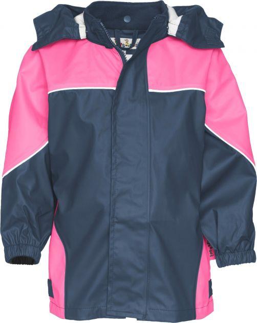 Playshoes---Rainjacket-two-toned---Navy/Pink