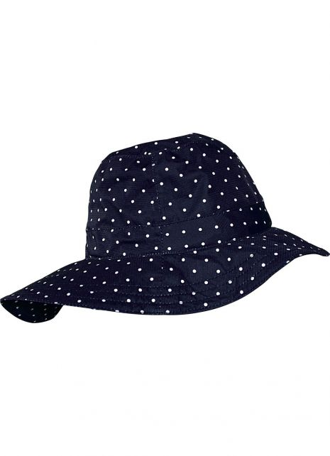 Pro-X-Elements---Southwester-rain-hat-for-women---Rügen---Marine-with-dots