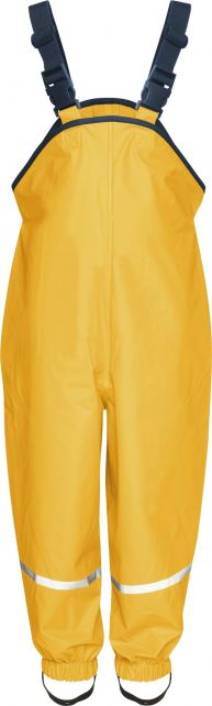 Playshoes---Rain-pants-with-suspenders---Yellow