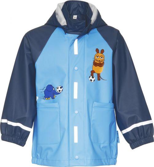 Playshoes---Rain-Coat-Mouse-&-Elephant-Football---Blue