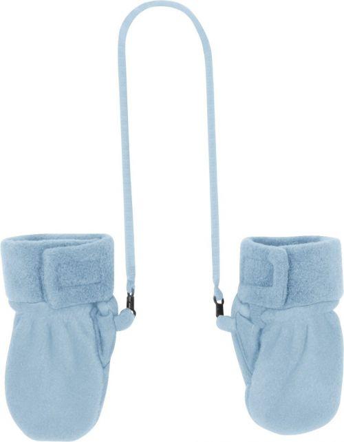 Playshoes---Fleece-Mittens---Light-blue