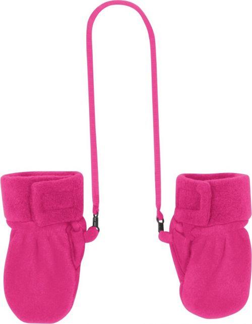 Playshoes---Fleece-Mittens---Pink