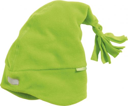 Playshoes---Fleece-hat-with-reflector---Green