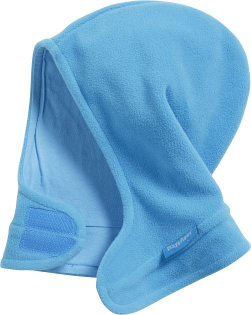 Playshoes---Fleece-hat-with-velcro---Aquablue