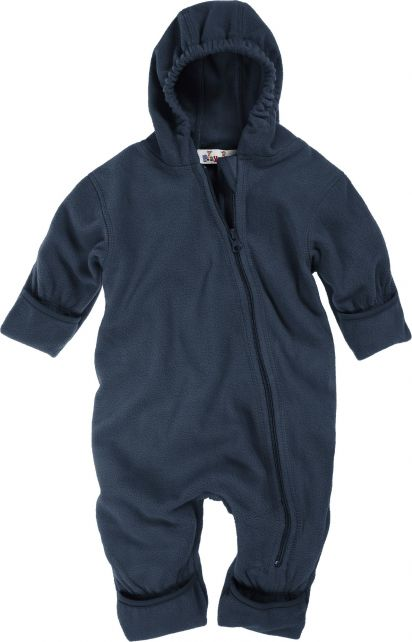 Playshoes---Fleece-overall-with-hoodie---Navy