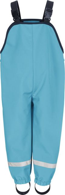 Playshoes---Softshell-Trousers-with-suspenders-for-kids---Aqua-blue