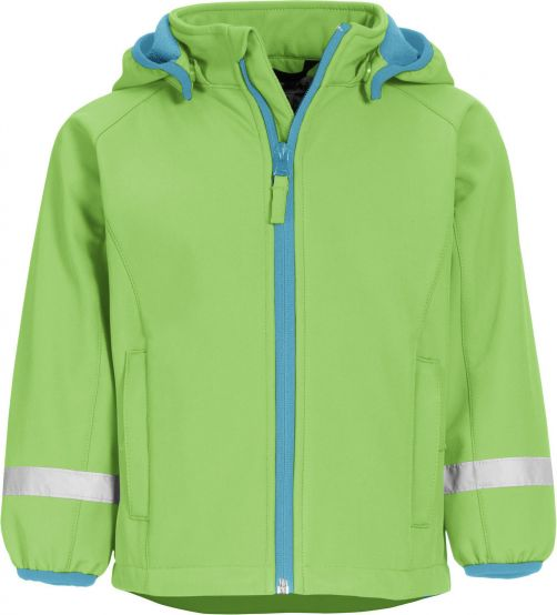 Playshoes---Softshell-Jacket-for-kids--Green
