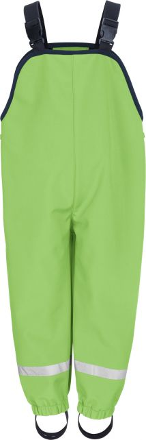 Playshoes---Softshell-Trousers-with-suspenders-for-kids---Green