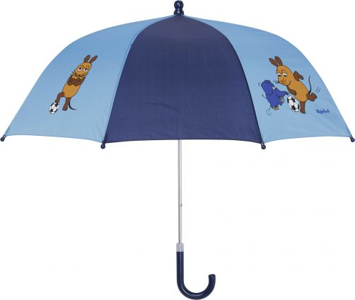 Playshoes---Children's-umbrella-with-Mouse-&-Elephant---Pink